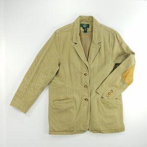 Orvis Safari Hunting Elbow Patch Jacket Blazer